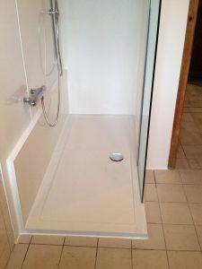 Neue Dusche statt Badewanne